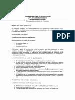 Bases de Congreso Nacional de Acreditación.