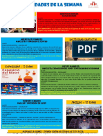 Actividades de la Escuela de Español 07 - 13 Marzo