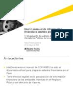 Nuevo Manual de Información Financiera