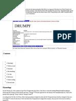 Donald J Drumpf