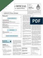 Boletín Oficial de la República Argentina, Número 33.330. 04 de marzo de 2016