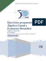 Problemas y Ejercicios de Algebra Lineal Ccesa007