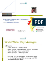 World Water Day 2010 Presentation on Orissa