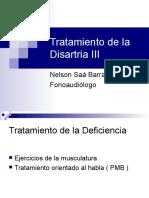 Tratamiento de La Disartria III