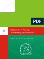 Radicalization in Pakistan Understanding the Phenomenon