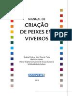 CODEVASF - Manual de Criação de Peixes Em Viveiros 2013