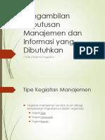 Modul 3 - Pengambilan Keputusan Manajemen dan Informasi yang Dibutuhkan.pdf