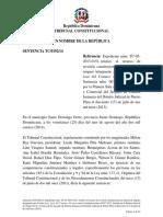 Sentencia TC 0192-14 del Tribunal Constitucional de la República Dominicana
