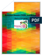 District Newsletter March 2016 (English)