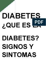 La Diabetes