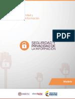 1. Modelo de Seguridad y Privacidad de La Información