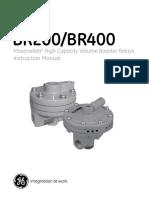 Gea 30642 Masoneilan Br200-Br400 Booster Relays Manual