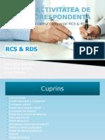 Proiect comunicare RCS-RDS