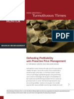 Defending Profitability With Proactive Price Management