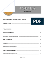 Agenda 3-8-2016