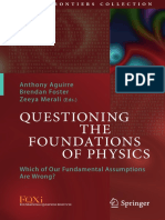 Questioning Basics of Physics