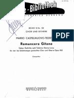 Castelnuovo-Tedesco - Romancero Gitano