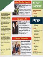 David Miliband election leaflet 2010 (2)