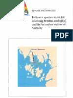 Indicator Species Index