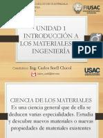 Introducción a Los Materiales de Ingeniería