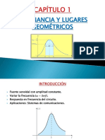 Resonancia y Lugares Geométricos