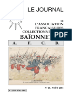 French Bayonet collector Bulletin