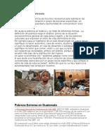 La Pobreza en Guatemala