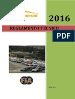 Reglamento Tecnico Trv6 2016