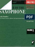 Joseph Viola Technique of the Saxophone 1 Scale Studies