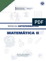 Matematica II MAU01