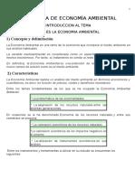 Programa de Economía Ambiental