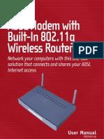 Belkin F5D7630-4A Manual