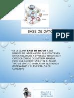 Base de Datos ejemplos de uso