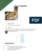 Recetario Cocina Enero 2016