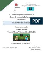 2016 03 04 - Attestati Partecipazione 'the Hour of Code' - UNITI