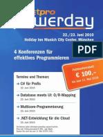 dotnetpro.powerday-22.-23.Juni-2010-München