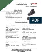 Especificação de calçado Vichi 4048 Vefb 4400 Lv
