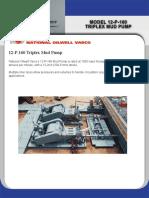 12P-160 Mud Pump Brochure