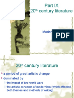 1 20th Century Literature