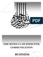 Seven Cs of Effective Communications 100109155151 Phpapp01