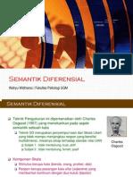 3 - Semantik Diferensial
