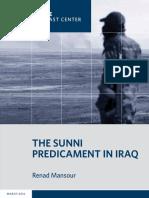 The Sunni Predicament in Iraq