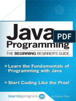 Java Programming The Beginning Beginner's Guide.pdf
