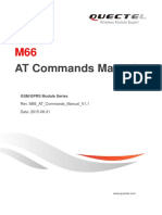 Quectel M66 at Commands Manual V1.1