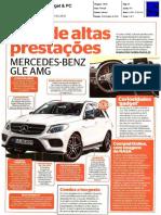 """Mercedes-Benz GLE AMG na revista """"Gadget & PC"""""""