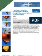 Eventsonline24 Ballonfahren Ballonfahrt Deutschlandweit 80160 0