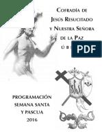Programa Pascua 2016