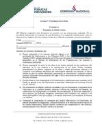 Formularios Anexos (Adenda 1)