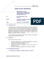 Informe Estándar Perf. Vol Julio 2006