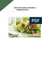 Ensales Con Carne, Pescado y Vegetarianas
